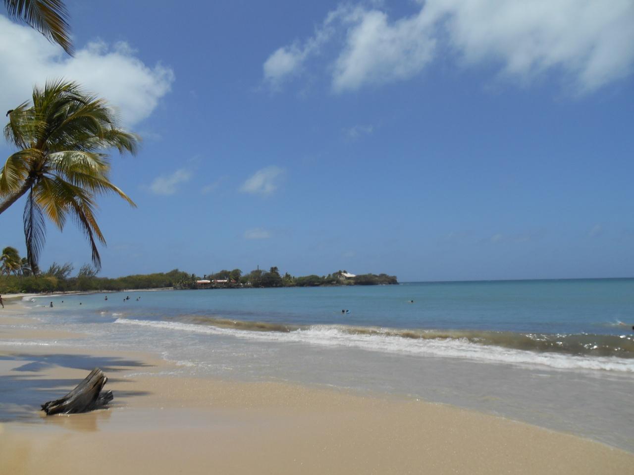 Un samedi sur la plage de Salines,Martinique.
