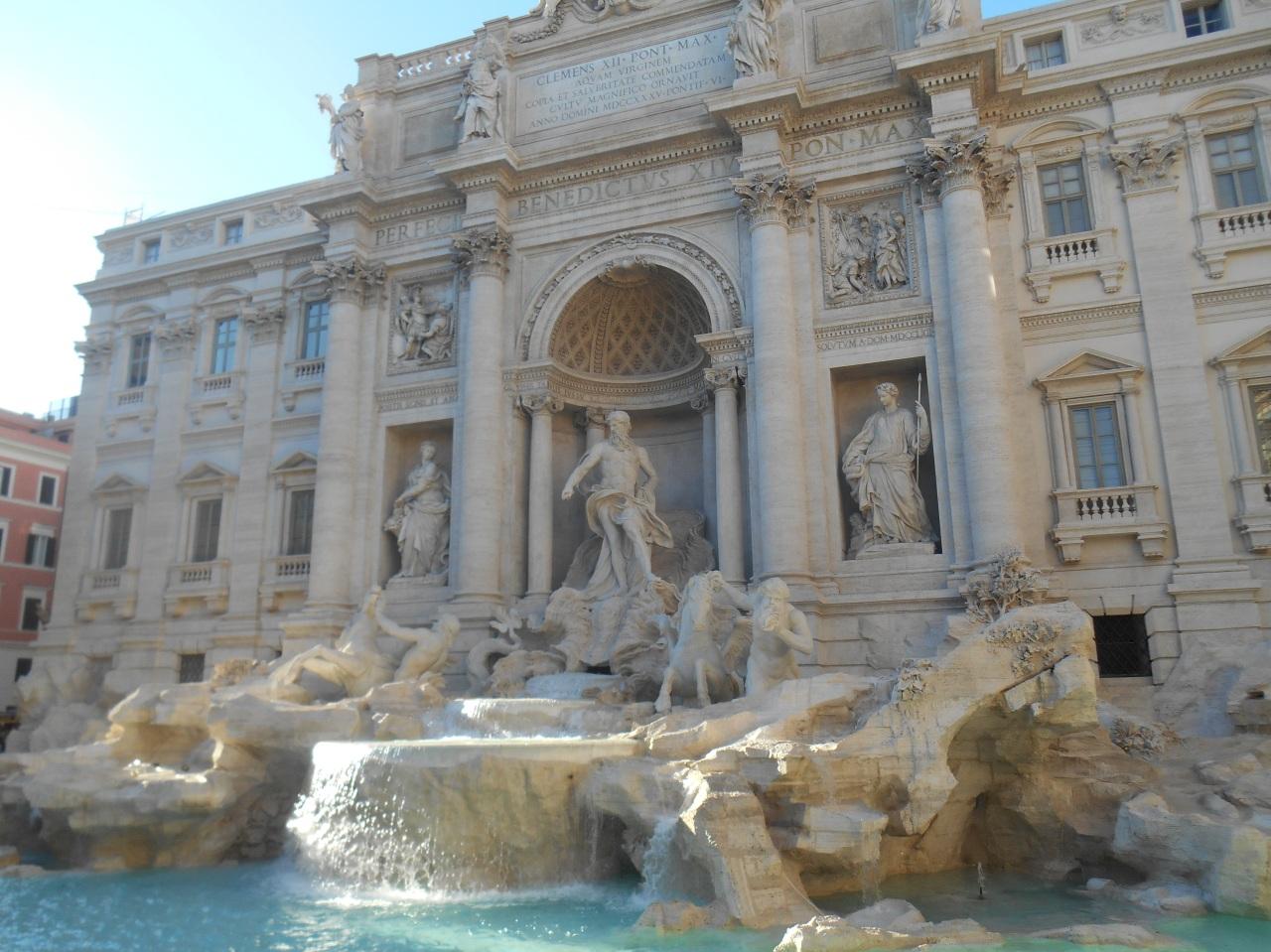 Cinq jours à Rome, l'éternelle.