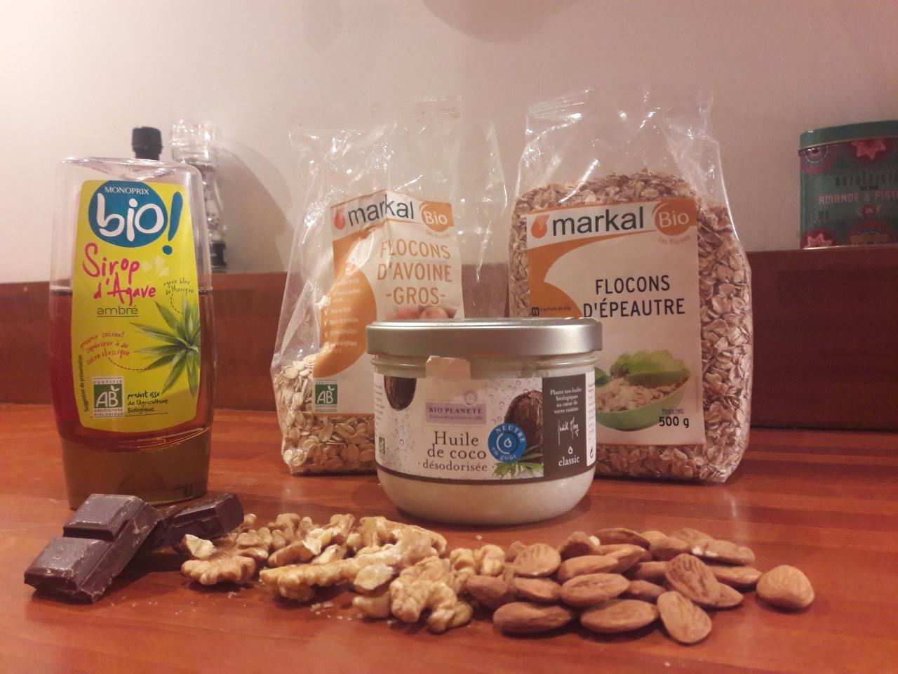 Muesli maison.. pour un petit déjeuner gourmand et healthy!