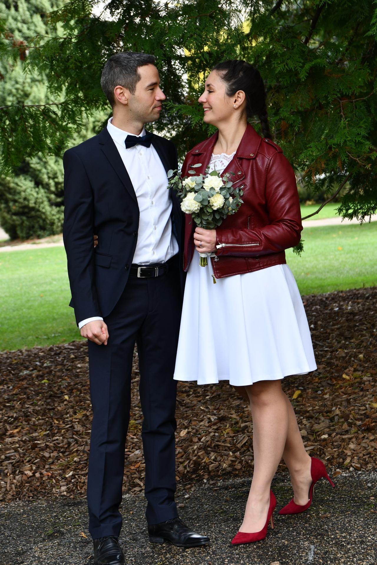 16 octobre 2020 : Le jour de notre mariagecivil.